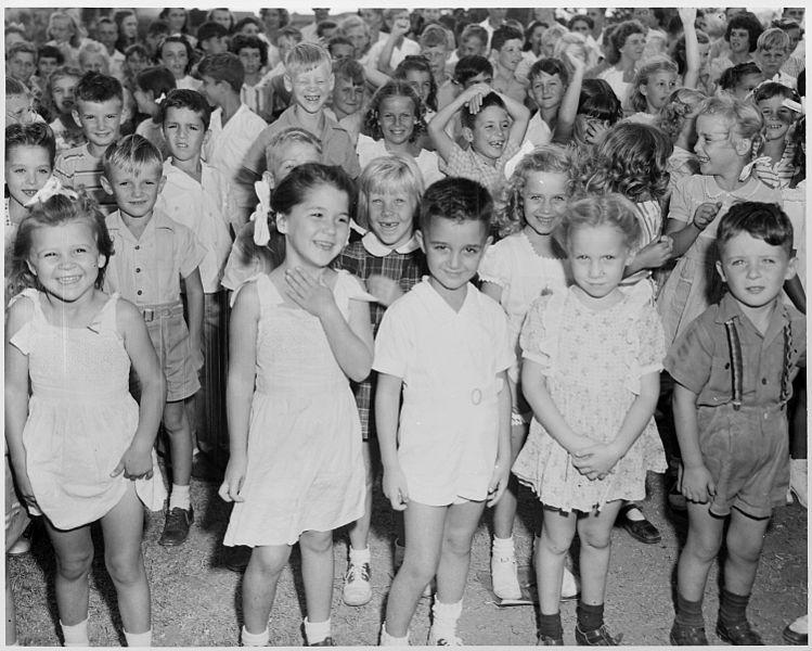 Children at Guantánamo Bay Naval Base Thumbnail Image