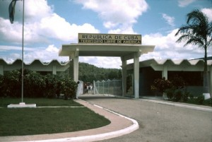 Northeast Gate where Cuban workers entered, Guantanamo Bay Naval Station.