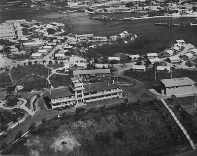 McCalla Field Headquarters, Guantanamo Bay.
