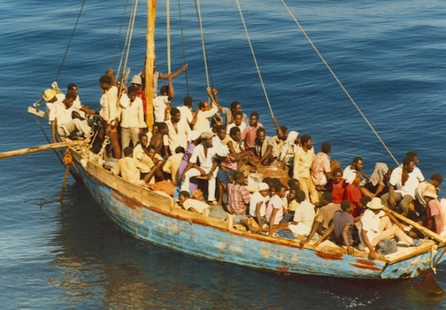 Haitian Refugees' Odyssey by Boat to Guantánamo Bay Thumbnail Image