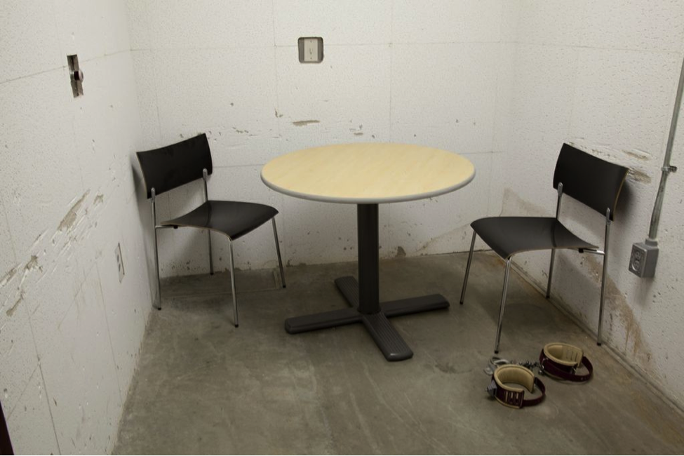 Christopher Sims, Camp 5 Interrogation, 2006.