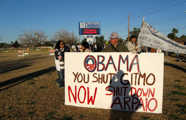 Arizona Immigration and GITMO Thumbnail Image