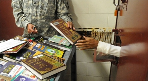 detainee library at Guantanamo Bay naval base
