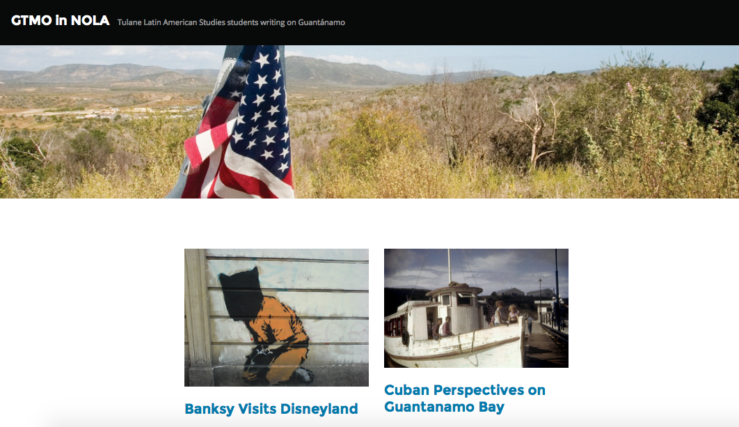 GTMO in NOLA: New Website Showcases Tulane Students' Research on  Gitmo Thumbnail Image